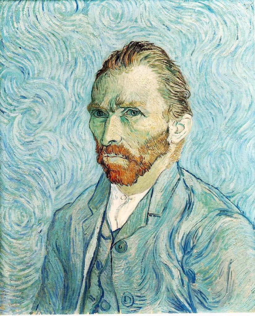 autoportrait Van Gogh