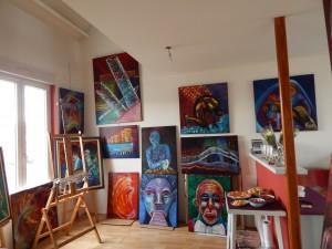 l'atelier d'Ouni Mam